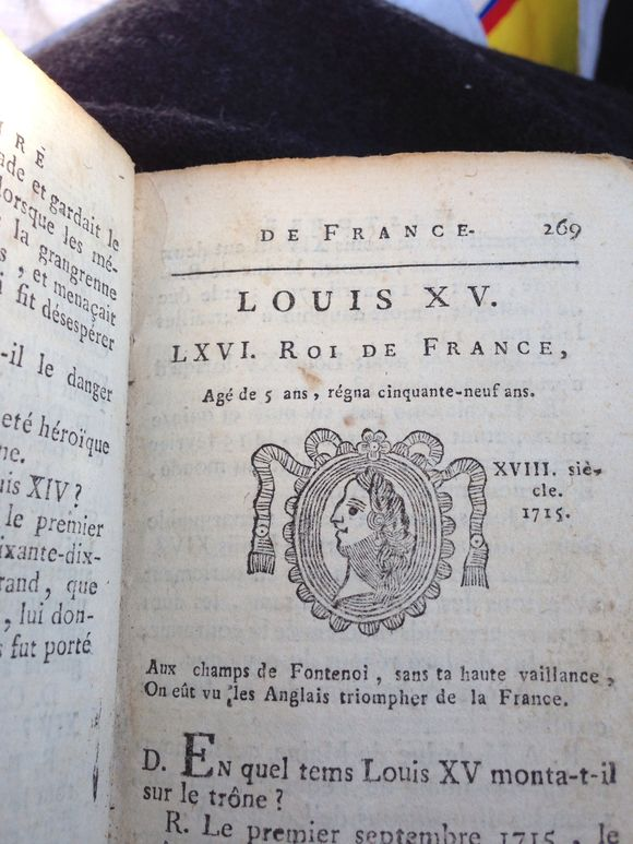 1800s Book Royal Rulers of France