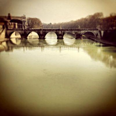 Ponte Sant'Angelo, Bridge Rome Italy