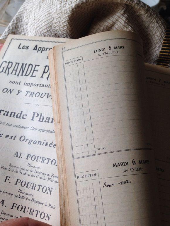 1934 French Agenda