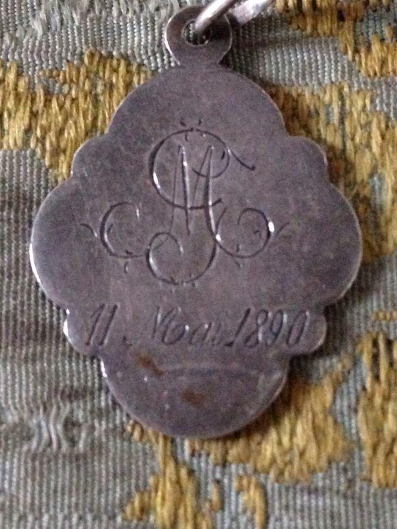 Communion Medal 1890
