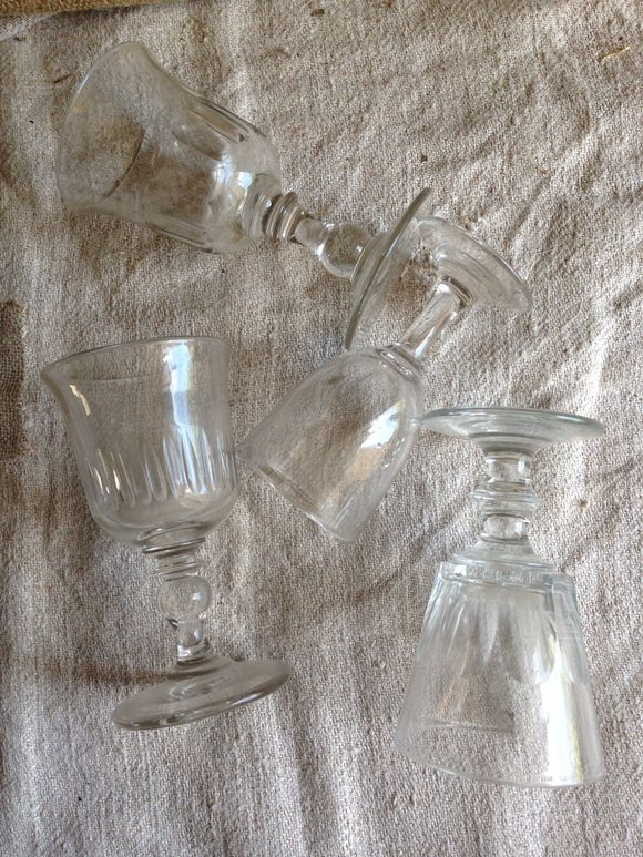Set of Four Bistro Glasses