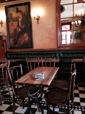 A Day in the Life of a French Cafe