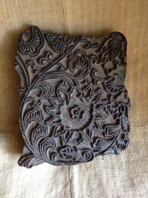 Large Wooden Provencal Block Print