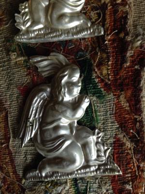 Silver Angel Votive