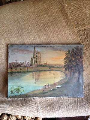 1800s French Oil Painting