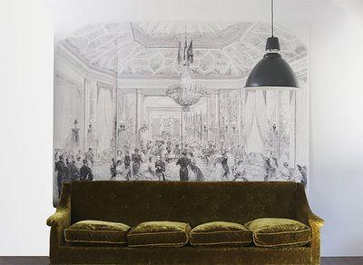 Ballroom mural richele and sydney