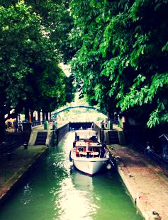 Starting Point Canal Saint Martin Paris