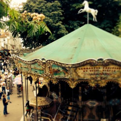Carousel sacred coeur paris