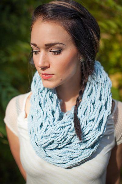 KompassionKnit scarf