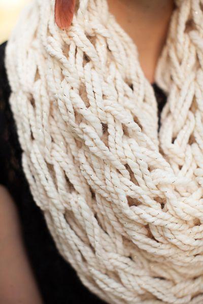 Detail of Kompassion.knit