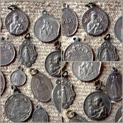 French religious medals