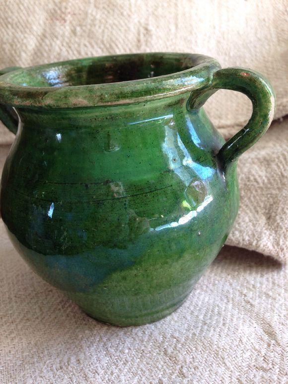 Green Confit Pot