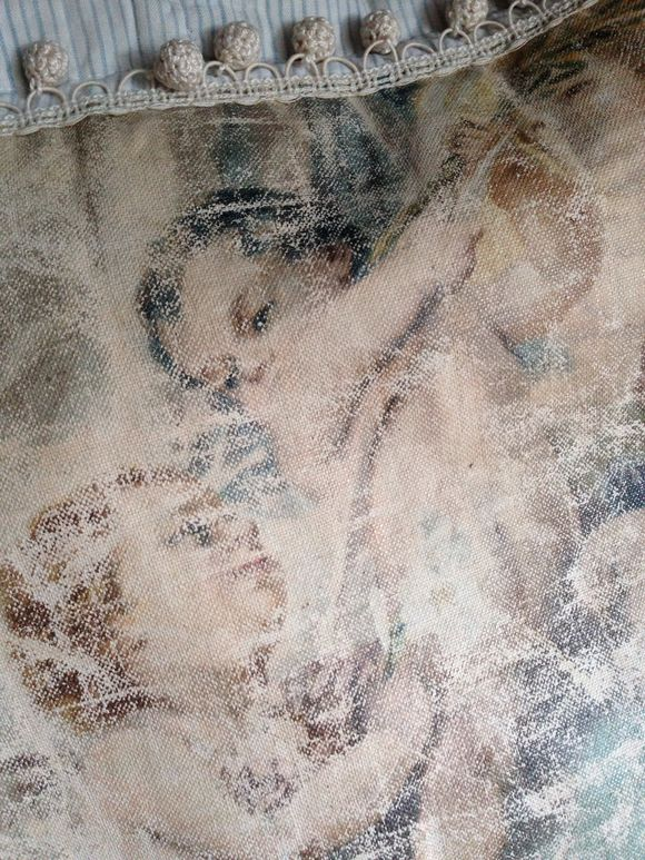 Angel Oil on Canvas Painting/pillow