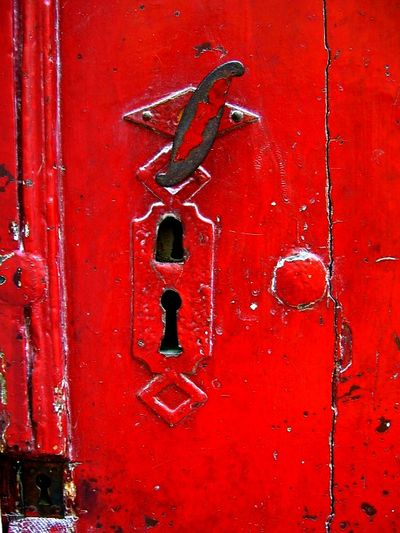 Doors in France Red