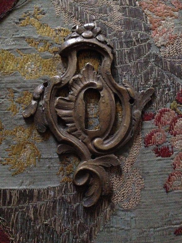 1800s Bronze Lock