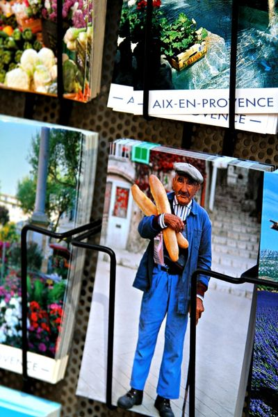 Provence postcards of provnece