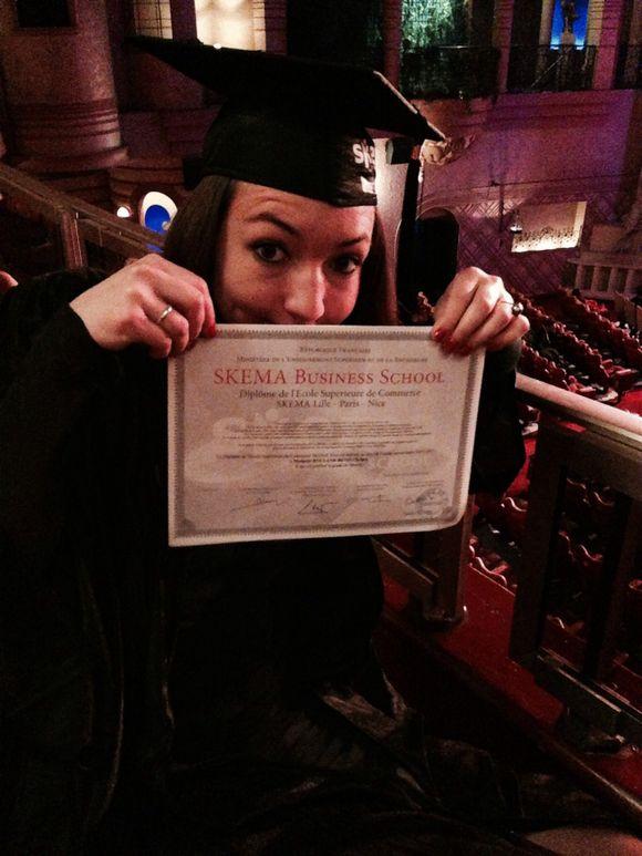 Chelsea Graduates!