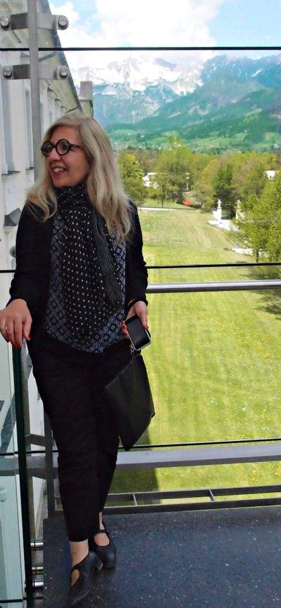 In Austria Lieselotte's photo