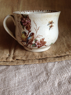 French Over Sized Tea Cup