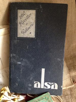 Alsa French Cookbook