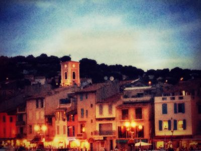 Cassis by moonlight
