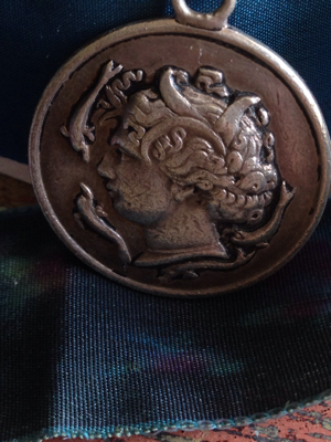 French Antique Medal