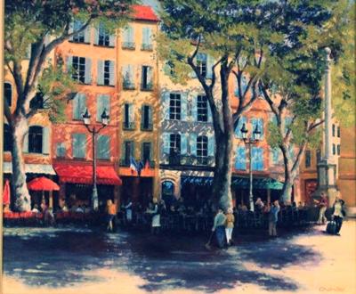 Aperitif in Aix Bruce Chanter