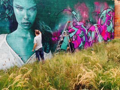 Graffiti Artists at work