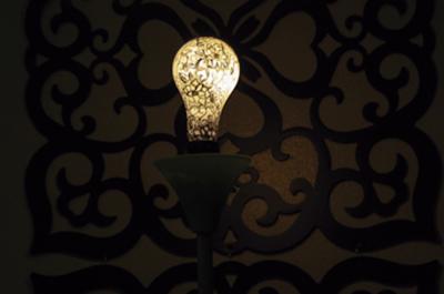 DIY paint lightbulb