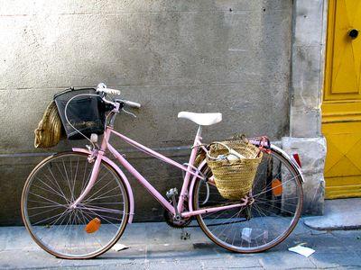 Pink-bicycle corey amaro tongue in cheek blog