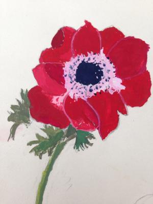 1950 Floral Paintings