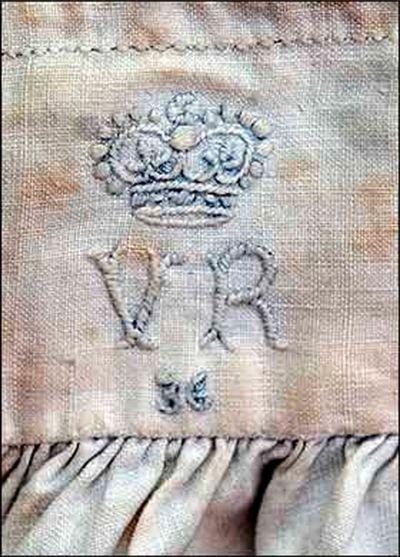 Queen victoria's monogram