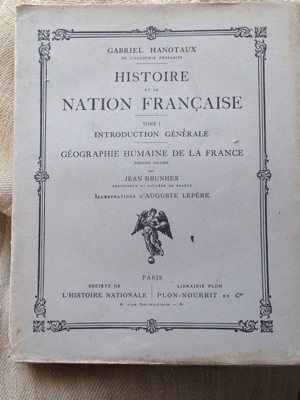 French Book Large Paperback Book of France