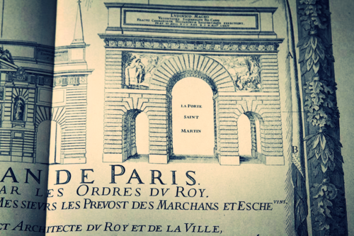 old map of paris corey amaro