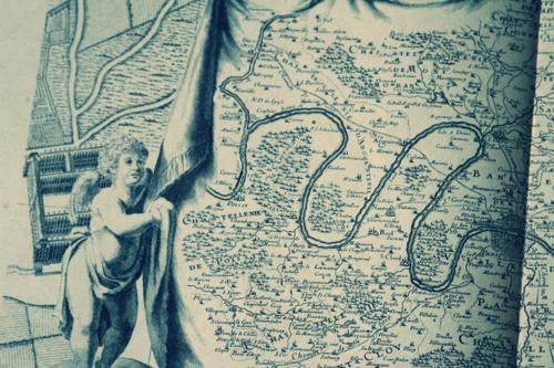 map of paris, corey amaro