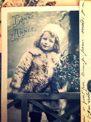 French Postcard brocante collection corey amaro