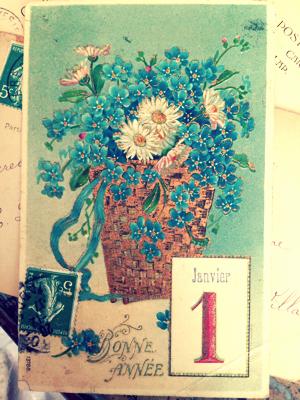 French Postcard by corey amaro