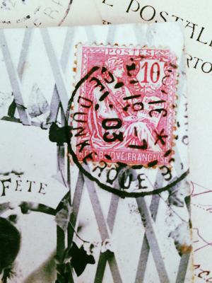 French Postcard brocante collection Corey Amaro