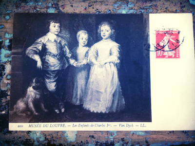 French Postcard corey amaro brocante collection