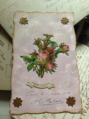 Number 60: French Antique Postcard