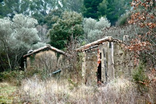Provence old cabanons