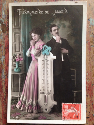 Number 72: French Valentine Postcard
