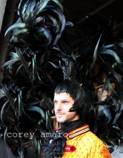 Venice carnival corey amaro photography, head piece venice
