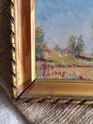 French Countryside Painting