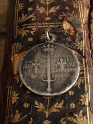 French Antique Medal: Saint Joan of Arc