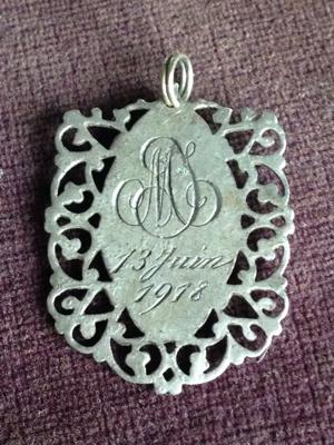 1900 Communion Medal