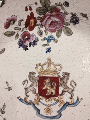 French 18th Century Plates