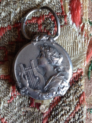 Silver Harp Player Medal/adjuster