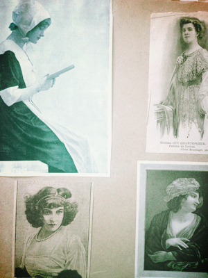 1900s French Scrapbooking