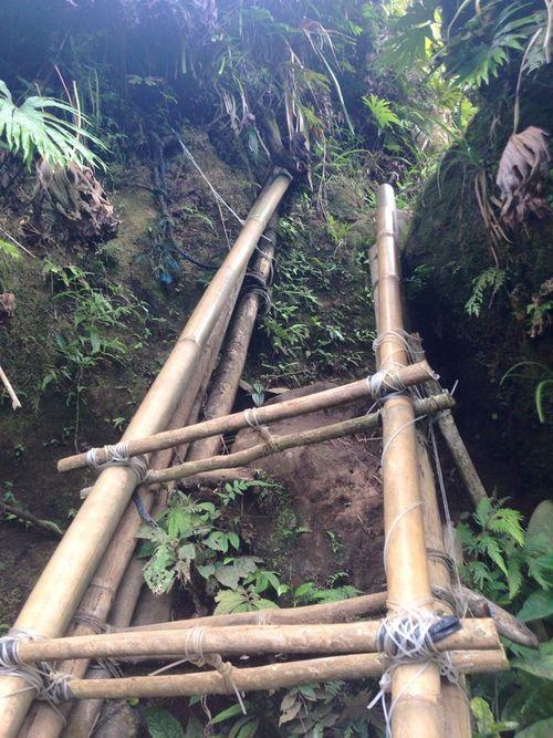 Bamboo ladder hike
